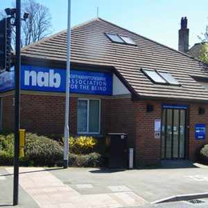 Photo of the front of Northampton Sight Centre and Head Office