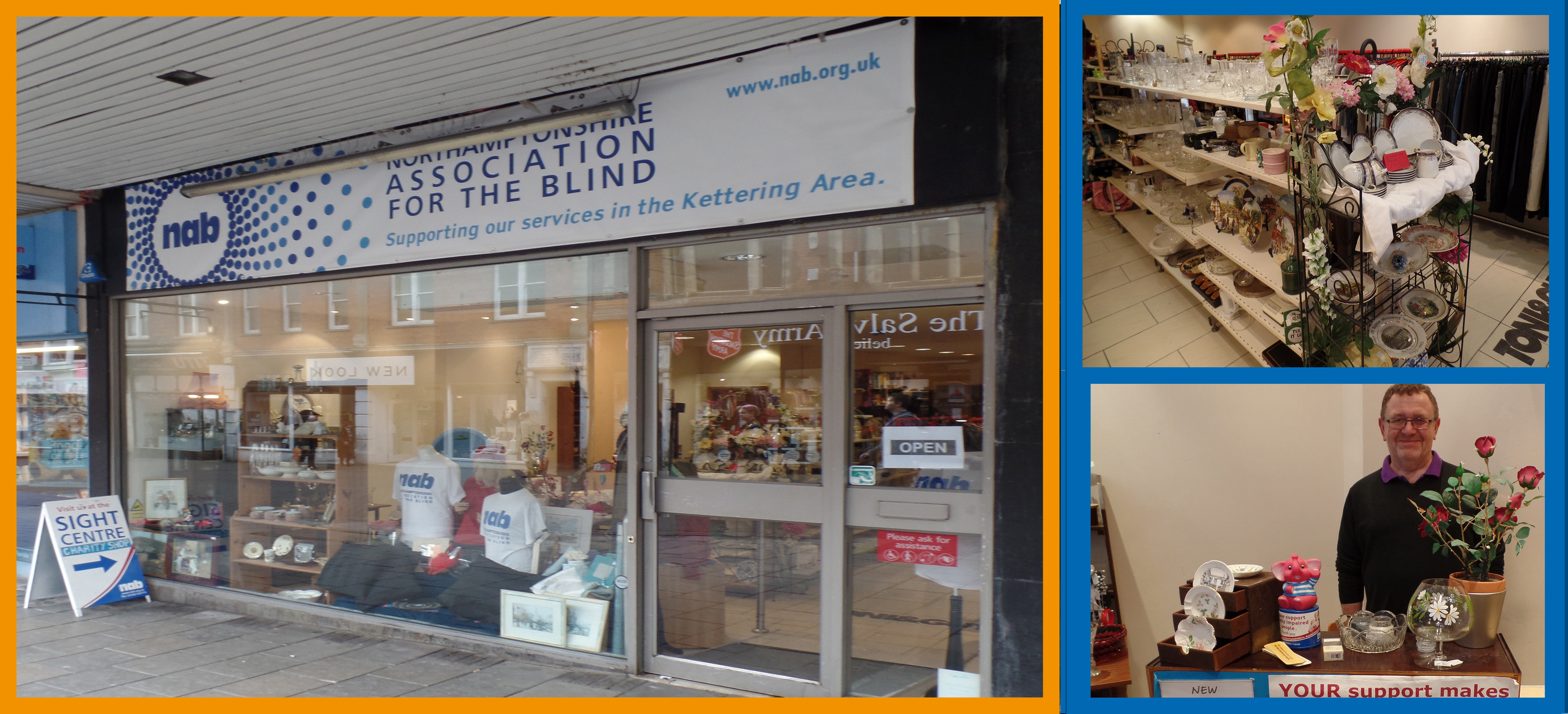 Charity Shops Northamptonshire Association For The Blind