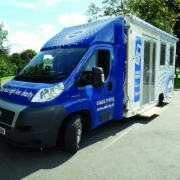 Photo of the Mobile Sight Centre