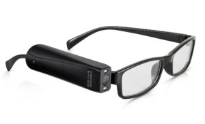 Photograph of the Orcam glasses